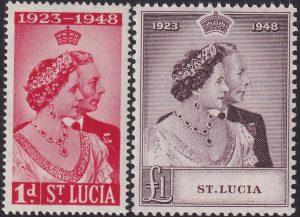 St Lucia Silver Wedding