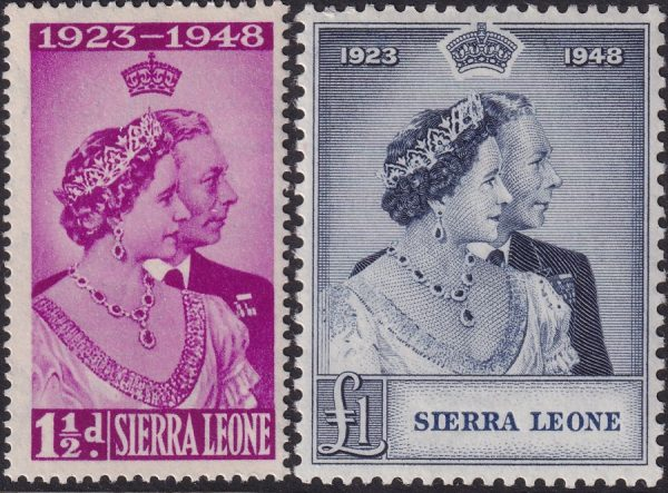 Sierra Leone Silver Wedding