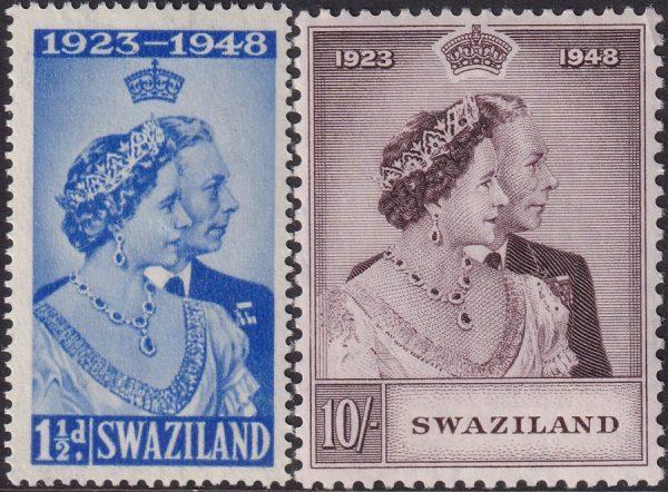Swaziland Silver Wedding