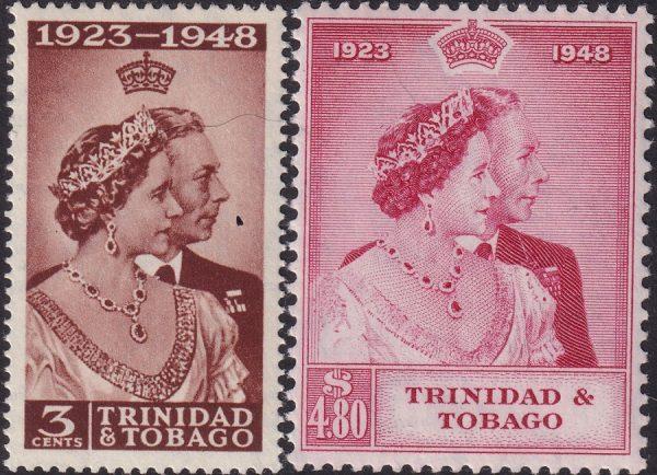 Trinidad & Tobago Silver Wedding