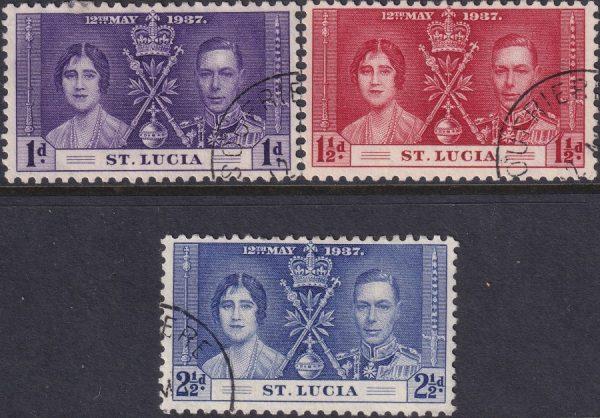 St Lucia Coronation