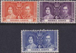 Sierra Leone Coronation