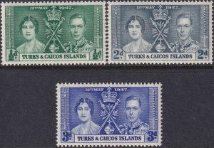 Turks & Caicos Is. Coronation