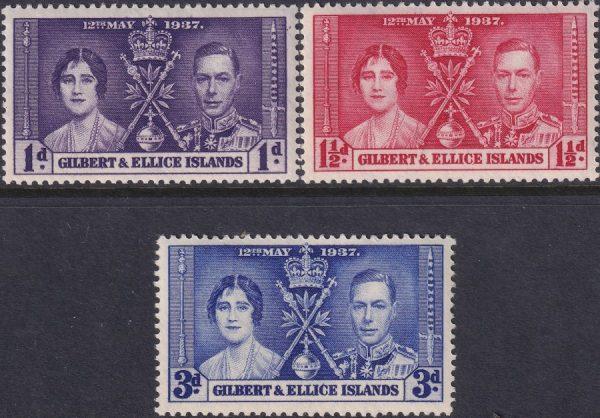 Gilbert & Ellice Is. Coronation