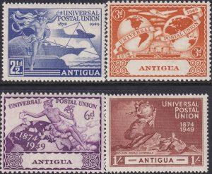Antigua 75th Anniversary of U.P.U.