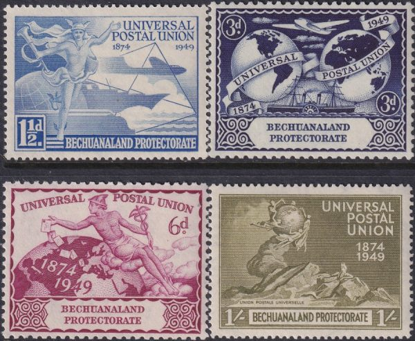 Bechuanaland 75th Anniversary of U.P.U.