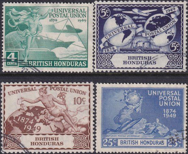 British Honduras 75th Anniversary of U.P.U.