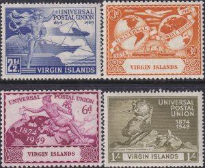 British Virgin Islands 75th Anniversary of U.P.U.
