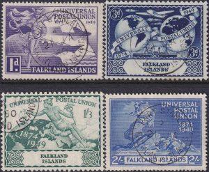 Falkland Islands 75th Anniversary of U.P.U.