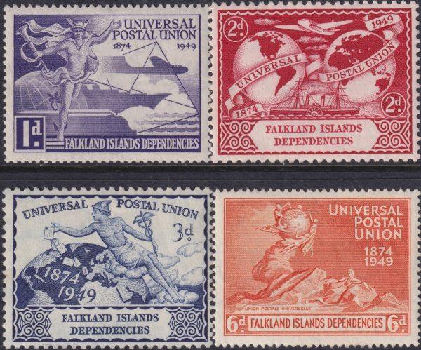 Falkland Islands Dependencies 75th Anniversary of U.P.U.