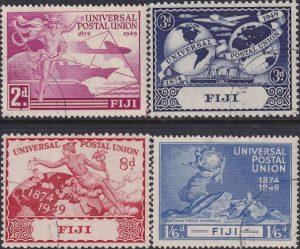 Fiji 75th Anniversary of U.P.U.