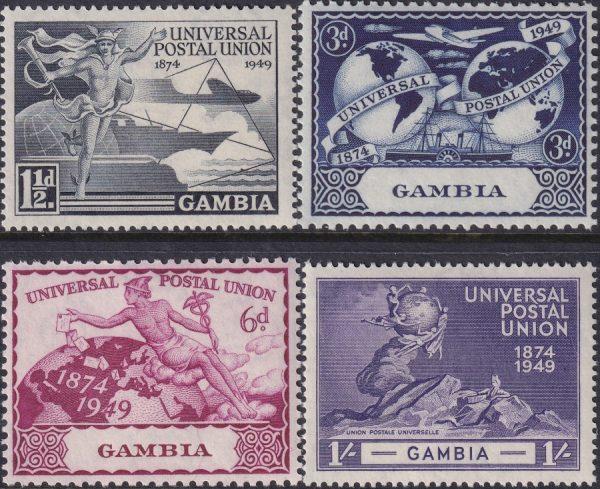 Gambia 75th Anniversary of U.P.U.