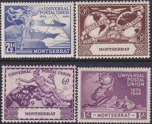 Montserrat 75th Anniversary of U.P.U.