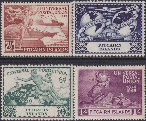 Pitcairn Islands 75th Anniversary of U.P.U.