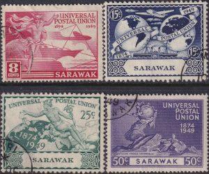 Sarawak 75th Anniversary of U.P.U.