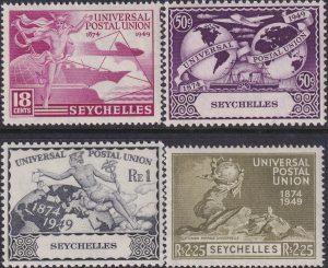 Seychelles 75th Anniversary of U.P.U.