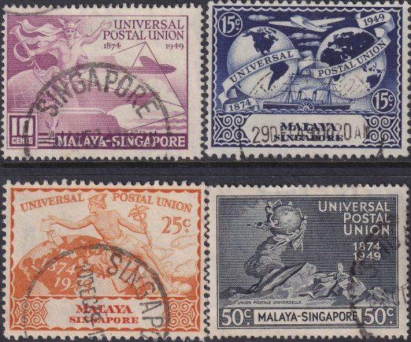 Singapore 75th Anniversary of U.P.U.