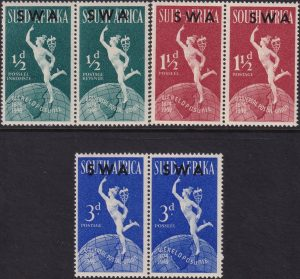 South West Africa 75th Anniversary of U.P.U.