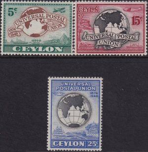 Ceylon 75th Anniversary of U.P.U.