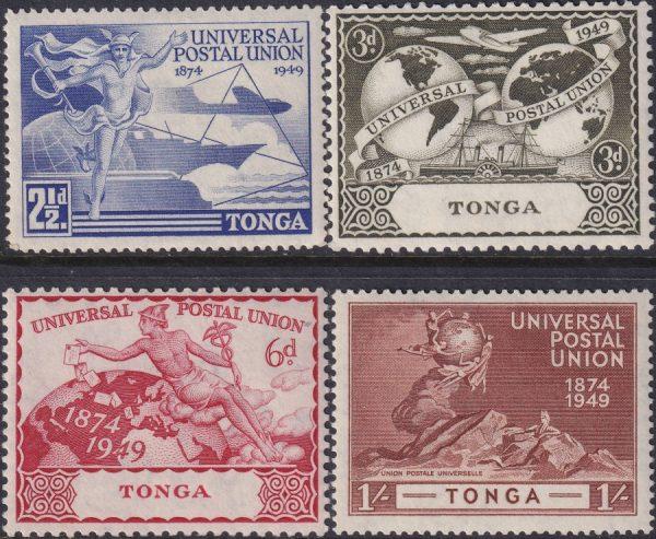 Tonga 75th Anniversary of U.P.U.
