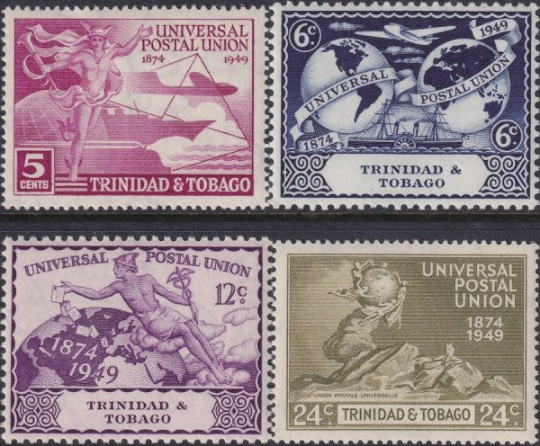 Trinidad & Tobago 75th Anniversary of U.P.U.