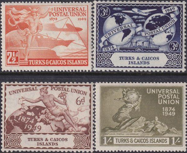Turks & Caicos Islands 75th Anniversary of U.P.U.