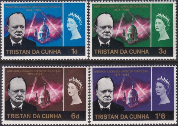 Tristan Da Cunha Churchill Commemoration