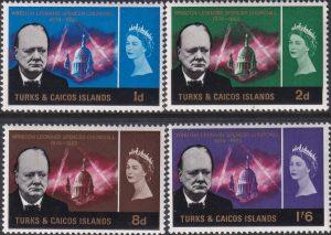 Turks & Caicos Islands Churchill Commemoration