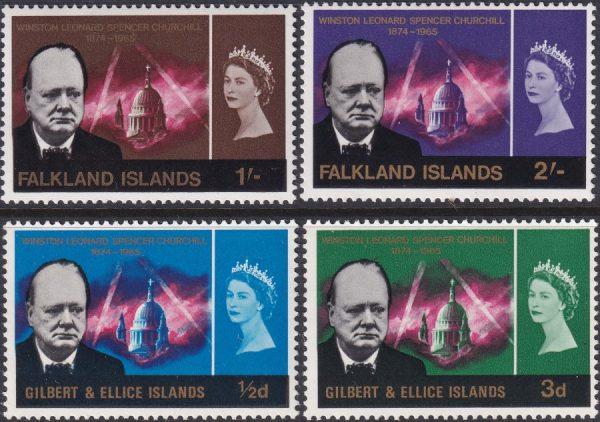 Falkland Islands Churchill Commemoration