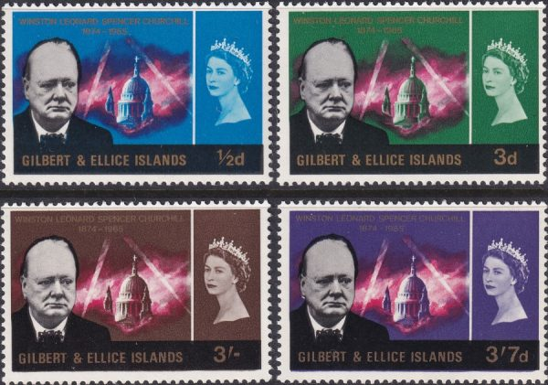 Gilbert & Ellice Islands Churchill Commemoration