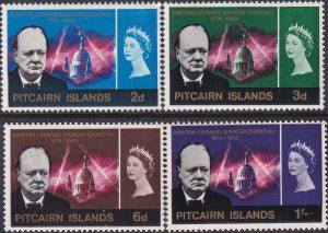 Picairn Islands Churchill Commemoration