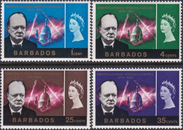 Barbados Churchill Commemoration