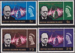 British Solomon Islands Churchill Commemoration
