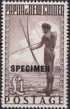Specimen Overprint