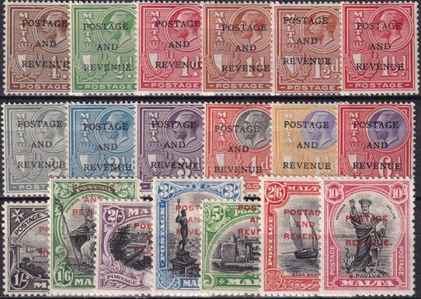 """Postage & Revenue"" Overprints"