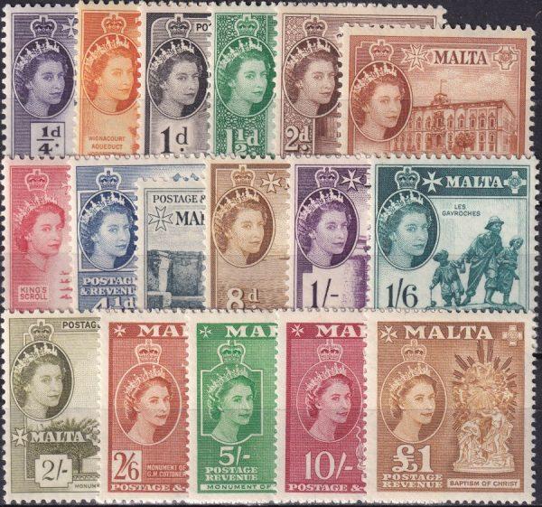 Queen Elizabeth II Definitives