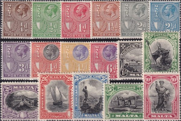 King George V Definitives