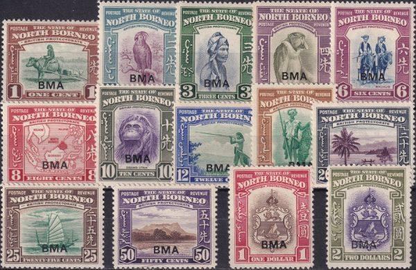 B.M.A. Overprints