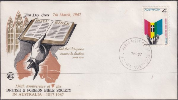 150th Anniversary of British and Foreign Bible Society in Australia