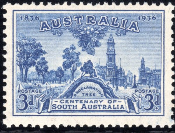 3d Centenary of South Australia