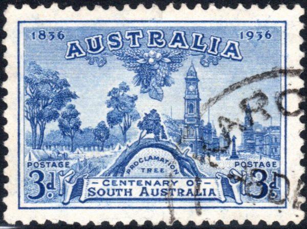 3d Centenary of South Australia