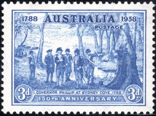 3d 150th Anniversary of Foundation of New South Wales