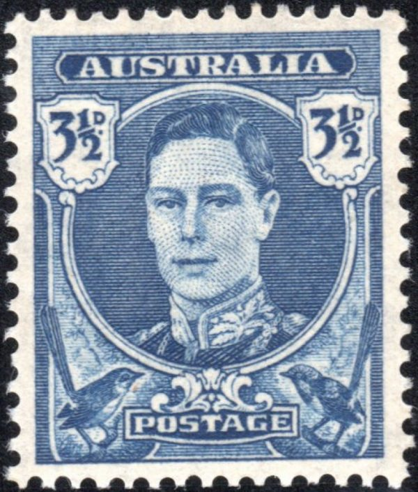 3½d King George VI