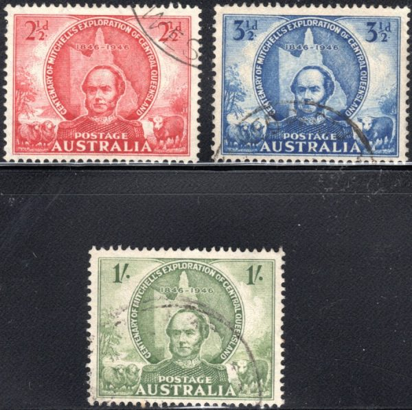 Centenary of Mitchell's Exploration of Central Queensland