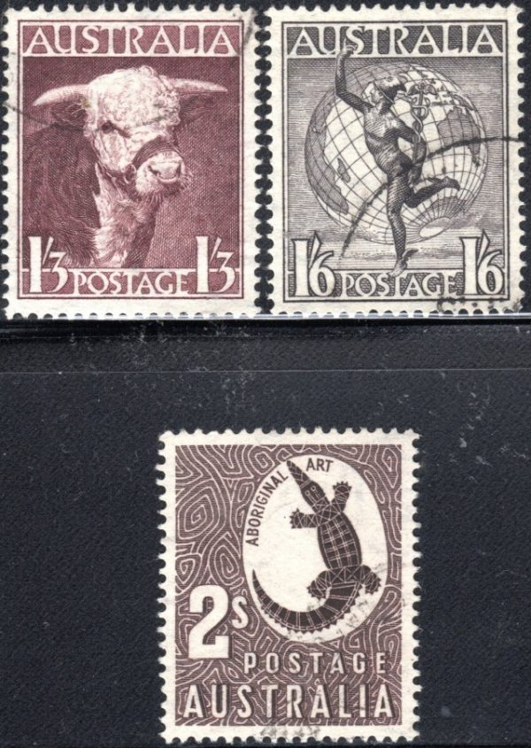 1948-49 King George VI Definitives - Watermark C of A