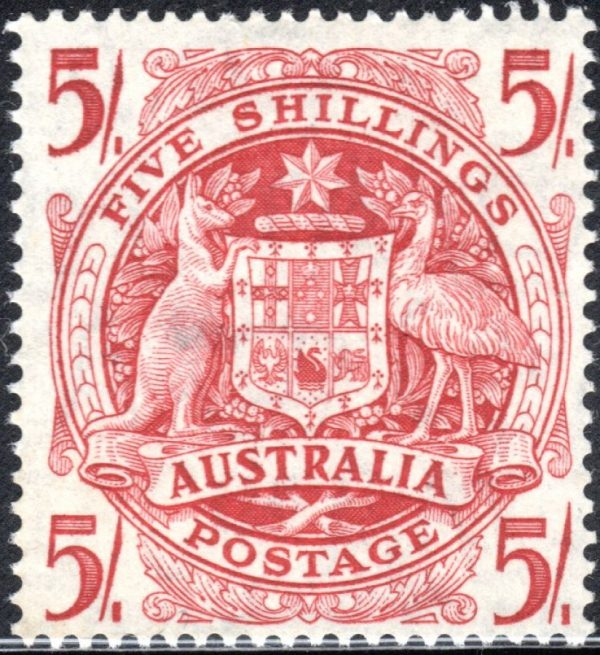 5/- Commonwealth Coat of Arms