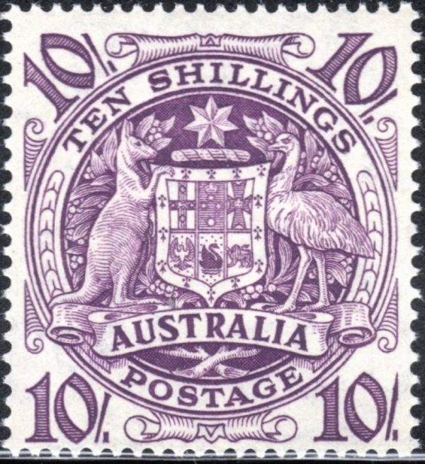 10/- Commonwealth Coat of Arms