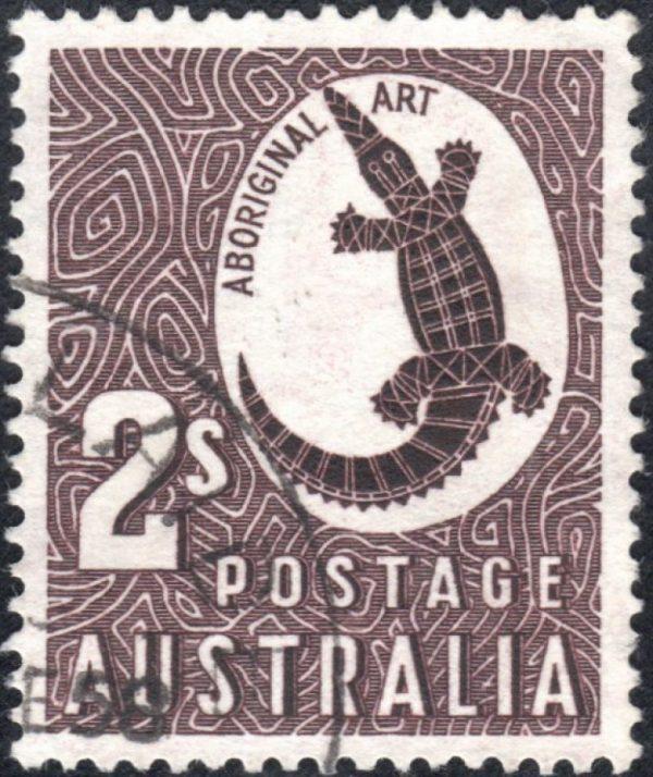 2/- Aboriginal Art - No Watermark