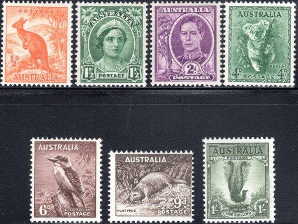 1948-56 King George VI Definitives - No Watermark