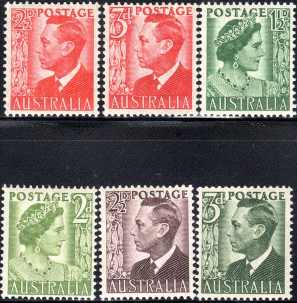 1950-52 King George VI Definitives